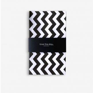 Papiertüten Paperback Blck+White S