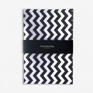 Papiertüten Paperback Black+White M