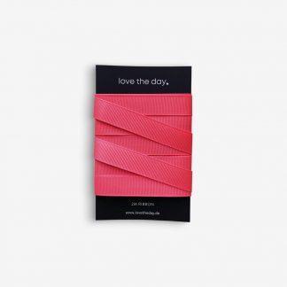 Geschenkband Ribbon Neon Pink