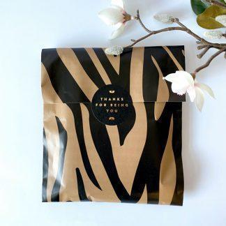 Papiertüten Paperback Zebra